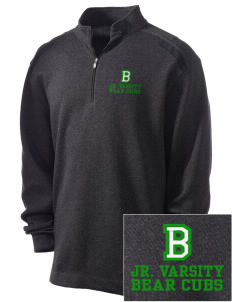 Belmont Elementary School Bear Cubs Embroidered Nike Men's Golf Heather Cover Up