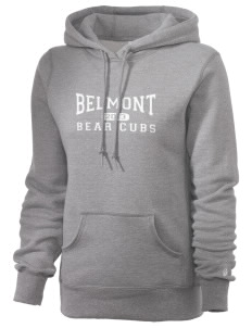 Belmont Elementary School Bear Cubs Russell Women's Pro Cotton Fleece Hooded Sweatshirt