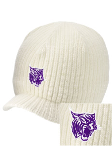 Irvington Elementary School Wildcats Embroidered Knit Beanie with Visor