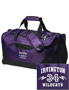 Irvington Elementary School Wildcats Embroidered Holloway Chill Medium Duffel Bag