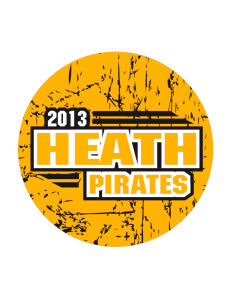Heath Elementary School Pirates Sticker