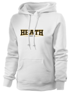 Heath Elementary School Pirates Russell Women's Pro Cotton Fleece Hooded Sweatshirt