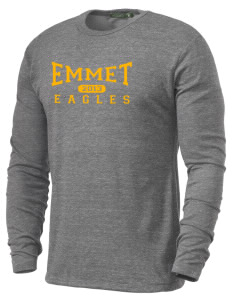 Emmet Schools Eagles Alternative Men's 4.4 oz. Long-Sleeve T-Shirt