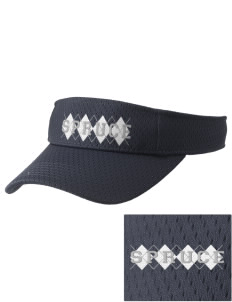 Spruce Elementary School Cougars Embroidered Woven Cotton Visor