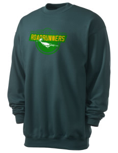 Eden Gardens Elementary School Roadrunners Men's 7.8 oz Lightweight Crewneck Sweatshirt