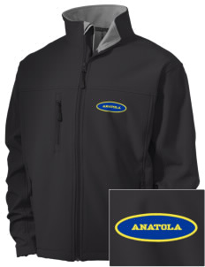 Anatola Elementx1y School Bulldogs Embroidered Men's Soft Shell Jacket