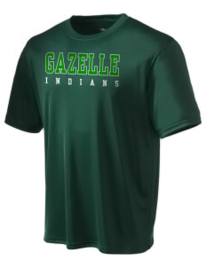 Gazelle Elementary School Indians Champion Men's Wicking T-Shirt