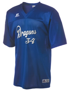 Del Sur School Dragons  Russell Men's Replica Football Jersey