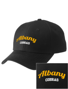 Albany Middle School Cobras  Embroidered New Era Adjustable Structured Cap