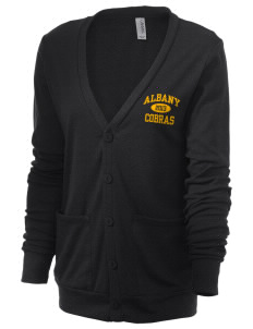 Albany Middle School Cobras Unisex 5.6 oz Triblend Cardigan