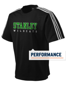 Stanley Middle School Wildcats adidas Men's ClimaLite T-Shirt