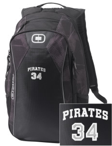Guttenberg Elementary School Pirates Embroidered OGIO Marshall Backpack