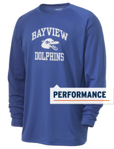 Bayview Elementary School Dolphins Men's Ultimate Performance Long Sleeve T-Shirt