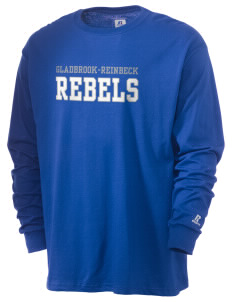 Gladbrook-Reinbeck School Rebels  Russell Men's Long Sleeve T-Shirt