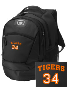 Tom Elementary School Tigers Embroidered OGIO Rogue Backpack