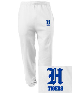 Hester Elementary School Tigers Embroidered Men's Sweatpants with Pockets