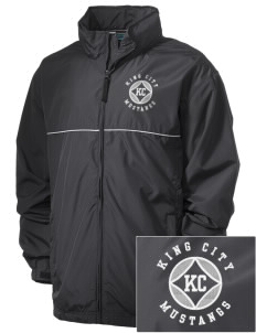 King City High School Mustangs Embroidered Men's Element Jacket