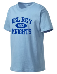 Del Rey Elementary School Knights Kid's Lightweight T-Shirt