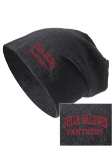 Julia Baldwin Elementary School Panthers Embroidered Slouch Beanie