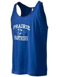 Prairie Elementary School Panthers Men's Jersey Tank