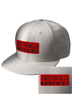 Creston Hills Elementary School Tigers  Embroidered New Era Flat Bill Snapback Cap