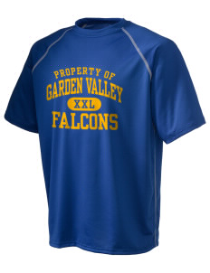 Garden Valley Elementary School Falcons Holloway Men's Vapor Performance T-Shirt