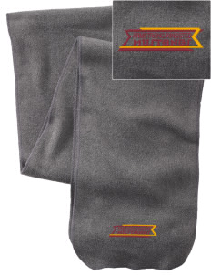 Armstrong-Ringsted Middle School Mustangs  Embroidered Extra Long Fleece Scarf