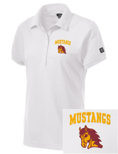 Armstrong-Ringsted Middle School Mustangs Embroidered OGIO Women's Jewel Polo