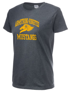 Armstrong-Ringsted Middle School Mustangs Women's 6.1 oz Ultra Cotton T-Shirt