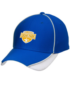 Grove Park Elementary School Bulldogs Embroidered New Era Contrast Piped Performance Cap
