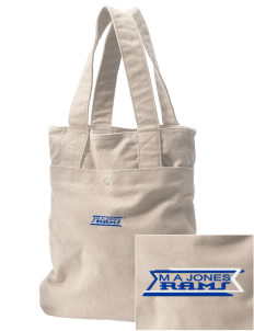 M A Jones Elementary School Rams Embroidered Alternative The Berkeley Tote