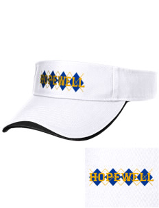 Hopewell Elementary School Tigers Embroidered Binding Visor