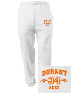 Durant Elementary School Aces Embroidered Men's Sweatpants with Pockets