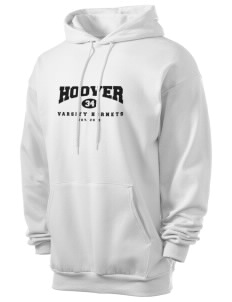 Hoover Elementary School Hornets Men's 7.8 oz Lightweight Hooded Sweatshirt