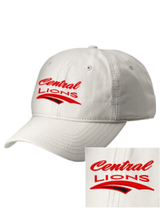 Central Elementary School Lions  Embroidered New Era Adjustable Unstructured Cap