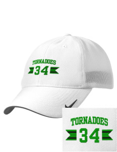 Turner High School Tornadoes Embroidered Nike Golf Mesh Back Cap