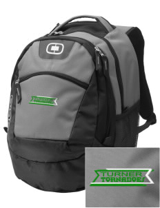 Turner High School Tornadoes Embroidered OGIO Rogue Backpack