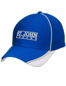 Saint John Elementary School Eagles Embroidered New Era Contrast Piped Performance Cap