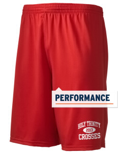 "Holy Trinity School Crosses Holloway Men's Performance Shorts, 9"" Inseam"