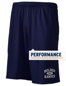 "Holder Elementary School Hawks Holloway Men's Performance Shorts, 9"" Inseam"