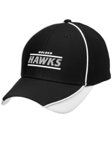 Holder Elementary School Hawks Embroidered New Era Contrast Piped Performance Cap
