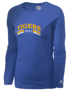 Trinity Lutheran School Tigers  Russell Women's Long Sleeve Campus T-Shirt