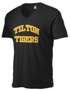 Tilton Elementary School Tigers Alternative Men's 3.7 oz Basic V-Neck T-Shirt