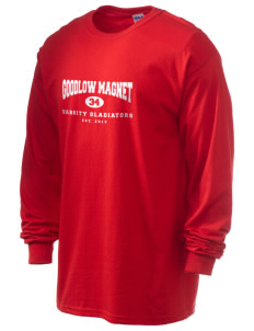 Goodlow Elementary Magnet School Gladiators 6.1 oz Ultra Cotton Long-Sleeve T-Shirt