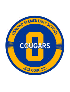 Osmond Elementary School Cougars Sticker