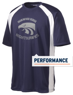 Ironwood Ridge High School Nighthawks Men's Dry Zone Colorblock T-Shirt