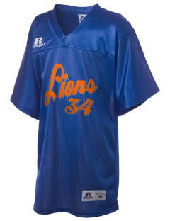 Auburn Mountainview High School Lions Russell Kid's Replica Football Jersey