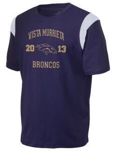 Vista Murrieta High School Broncos Holloway Men's Rush T-Shirt