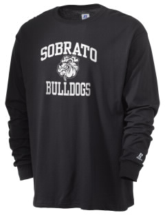 Sobrato Bulldogs  Russell Men's Long Sleeve T-Shirt