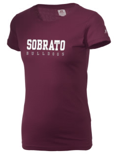 Sobrato Bulldogs  Russell Women's Campus T-Shirt